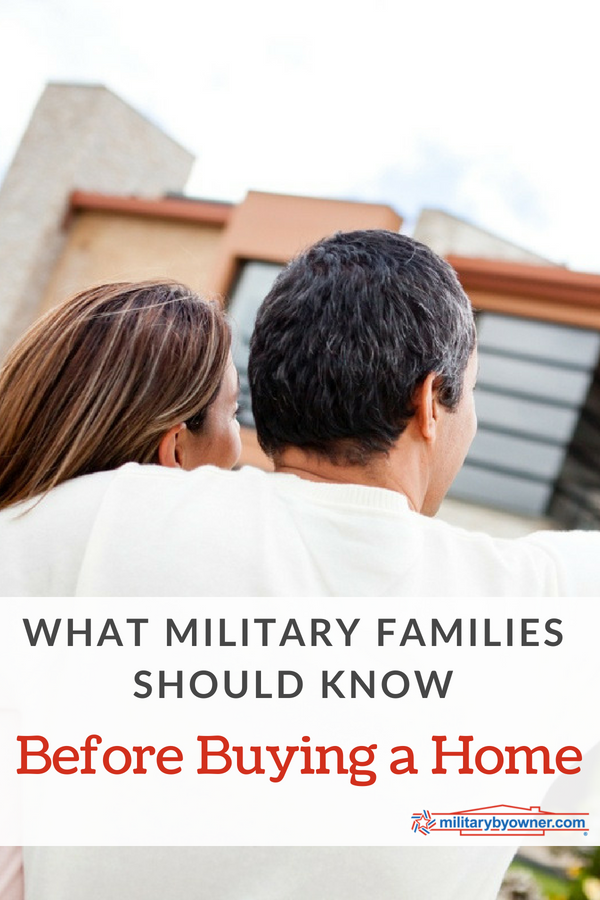 What Military Families Should Know Before Buying a Home