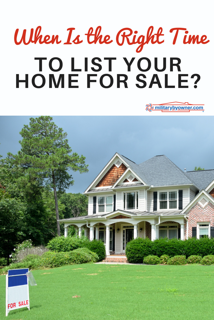 When Is the Right Time to List Your Home for Sale?