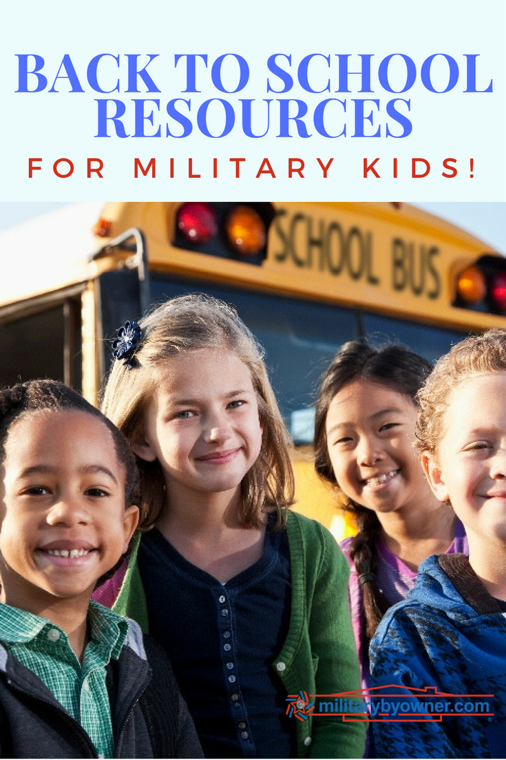 Back to school for military kids!