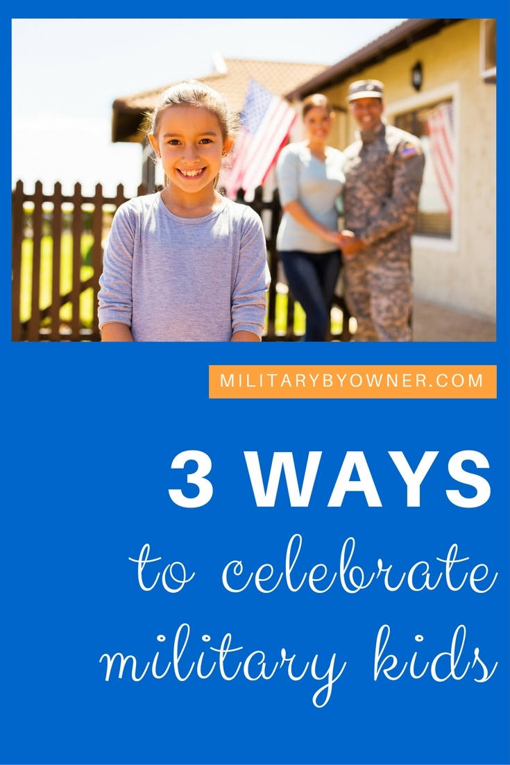 Celebrate military kids during the Month of the Military Child!