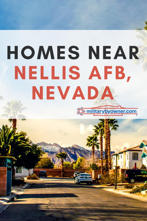 homes near Nellis AFB, Nevada