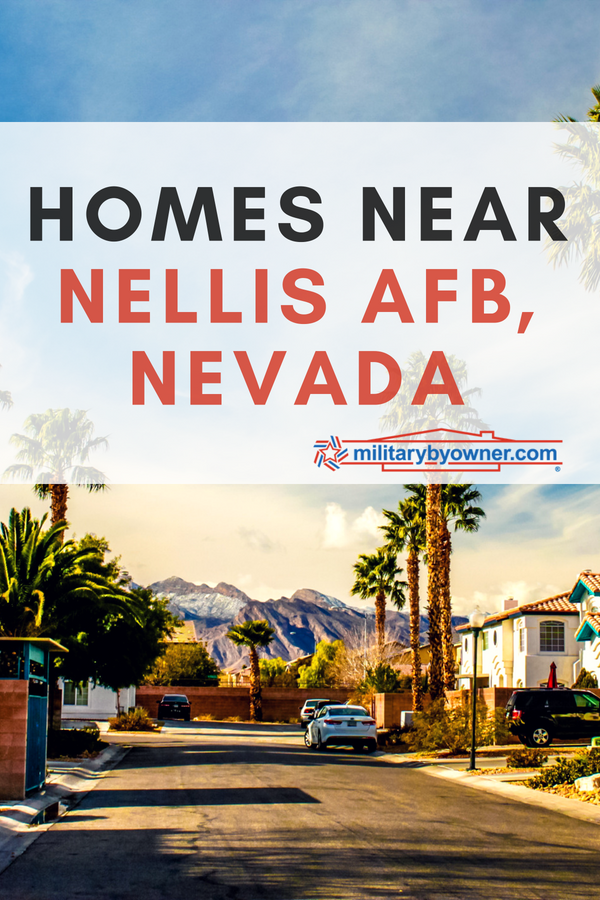 homes near Nellis AFB, Nevada