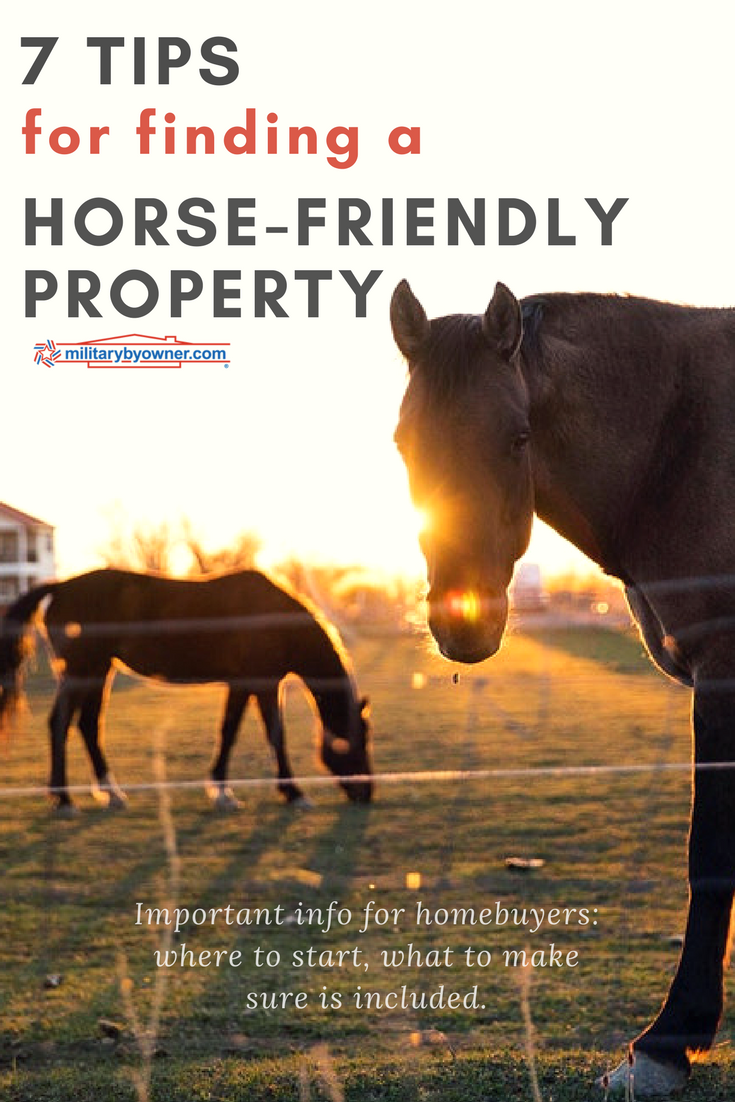 7 Tips for Finding a Horse-Friendly Property