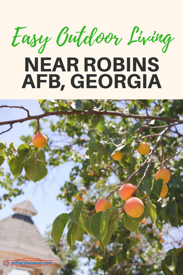 Enjoy Outdoor Living with These MilitaryByOwner Homes for Sale Near Robins AFB