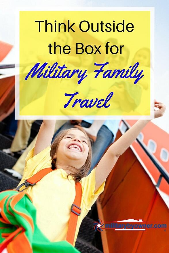 Whether you're traveling for spring break or making PCS travel plans, some alternative travel resources might be the ticket for your military family!