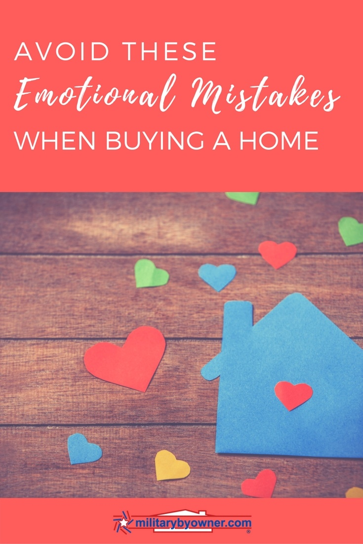 Avoid these emotional mistakes when it comes to buying a home.