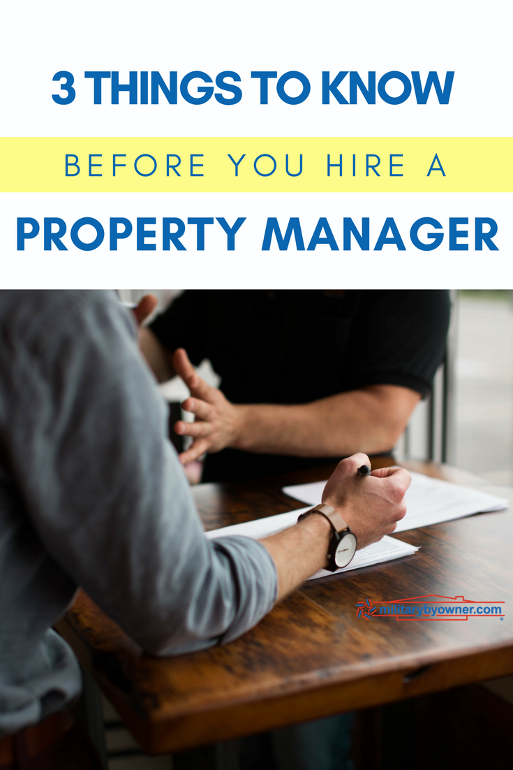 3 Things to Know Before You Hire a Property Manager