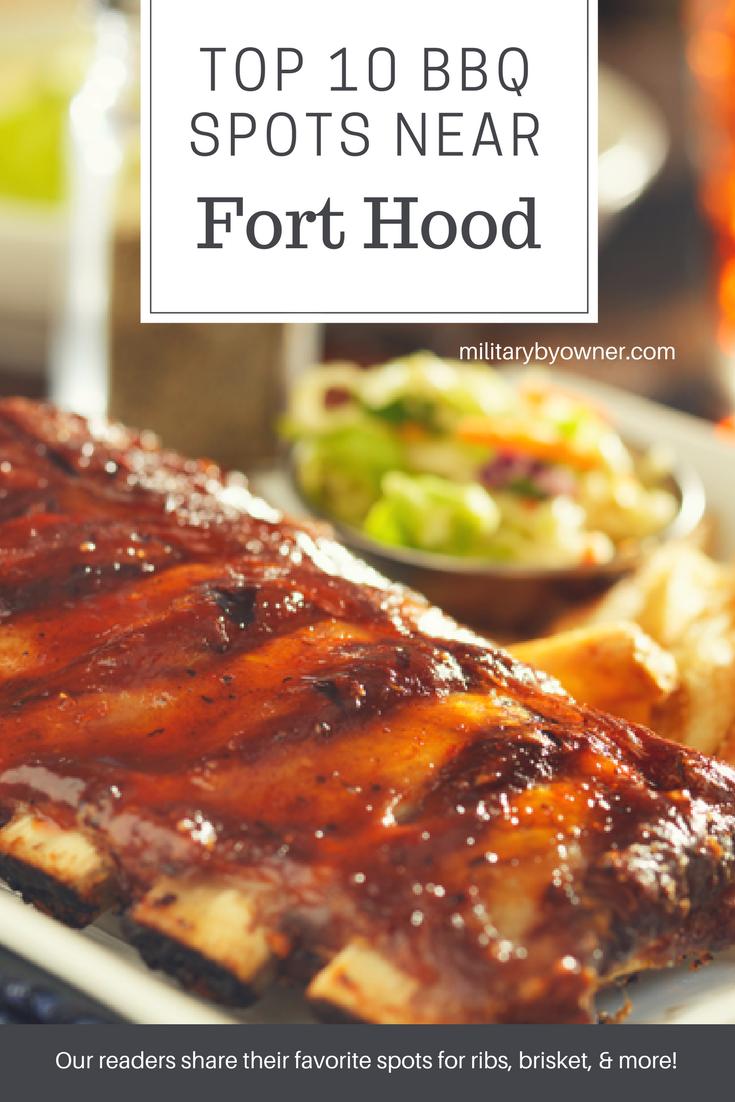 Top 10 BBQ Spots Near Fort Hood