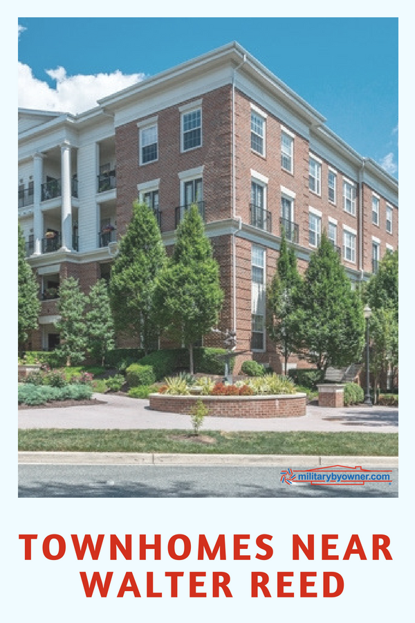 Townhomes Near Walter Reed National Military Medical Center