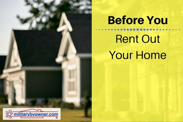 7 things to know before you rent out your home.