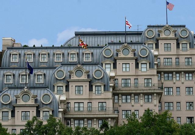 The Willard Hotel in Washington D.C.
