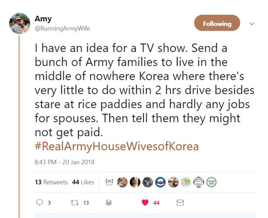 Military spouse tweet