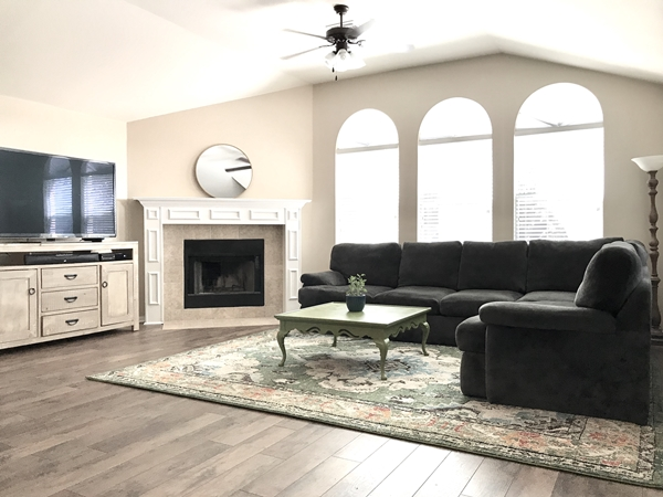 Cattail Circle Living Room Harker Heights Home for Rent