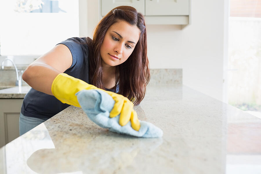 Follow a checklist for cleaning your military housing.