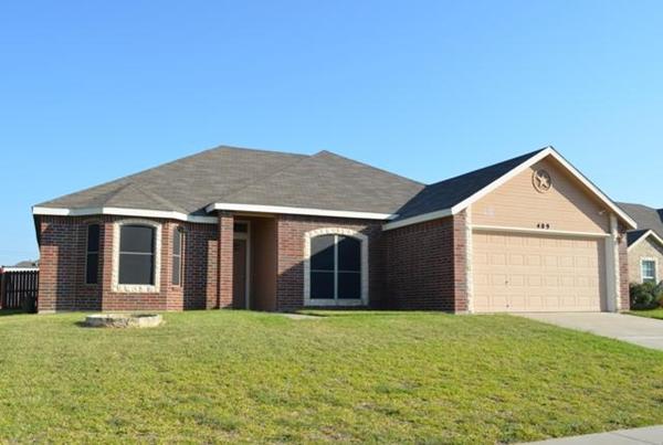 Killeen Texas rental home near Fort Hood.