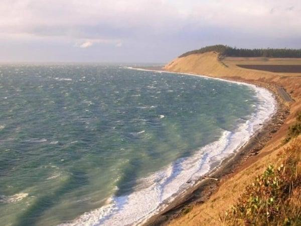Ebeys Landing near Whidbey Island