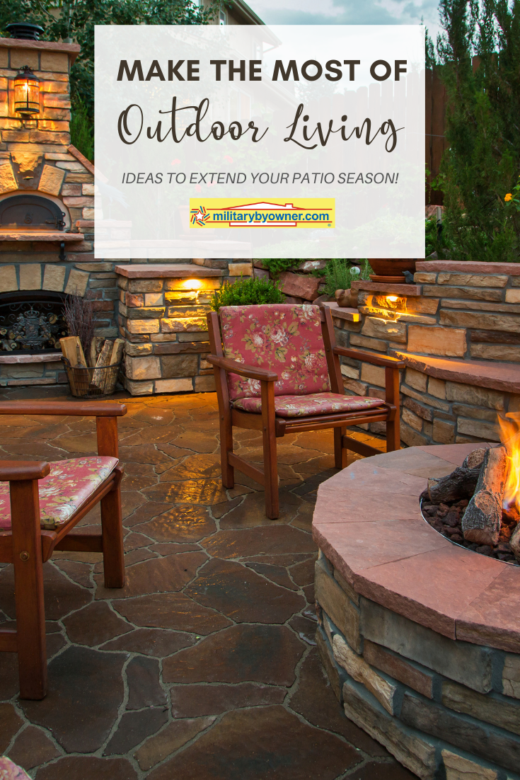 Extend Your Patio Season to Make the Most of Outdoor Living