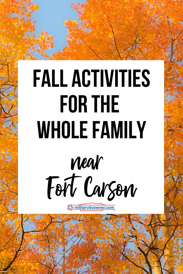 Fall Activities Near Fort Carson