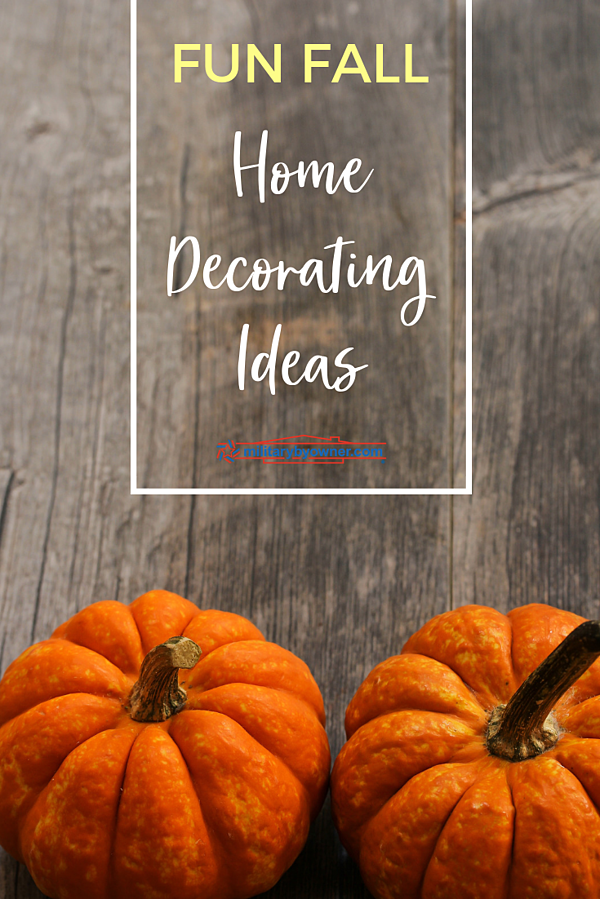 Fun Fall Home Decorating