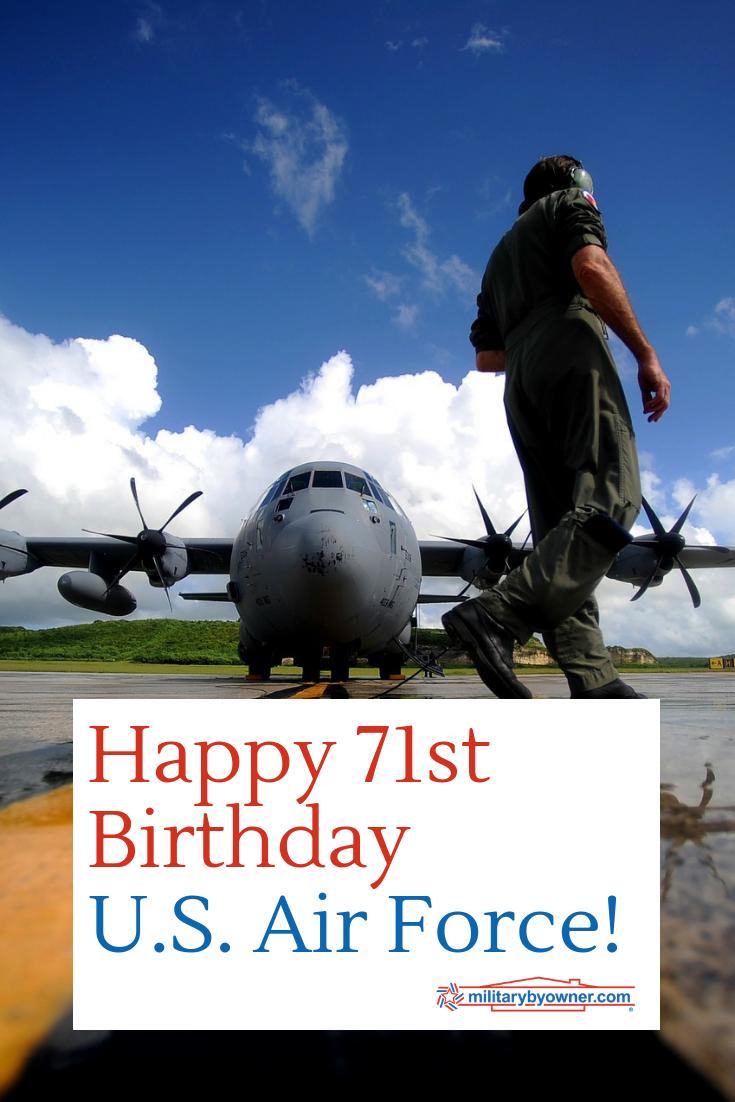 Happy Birthday USAF