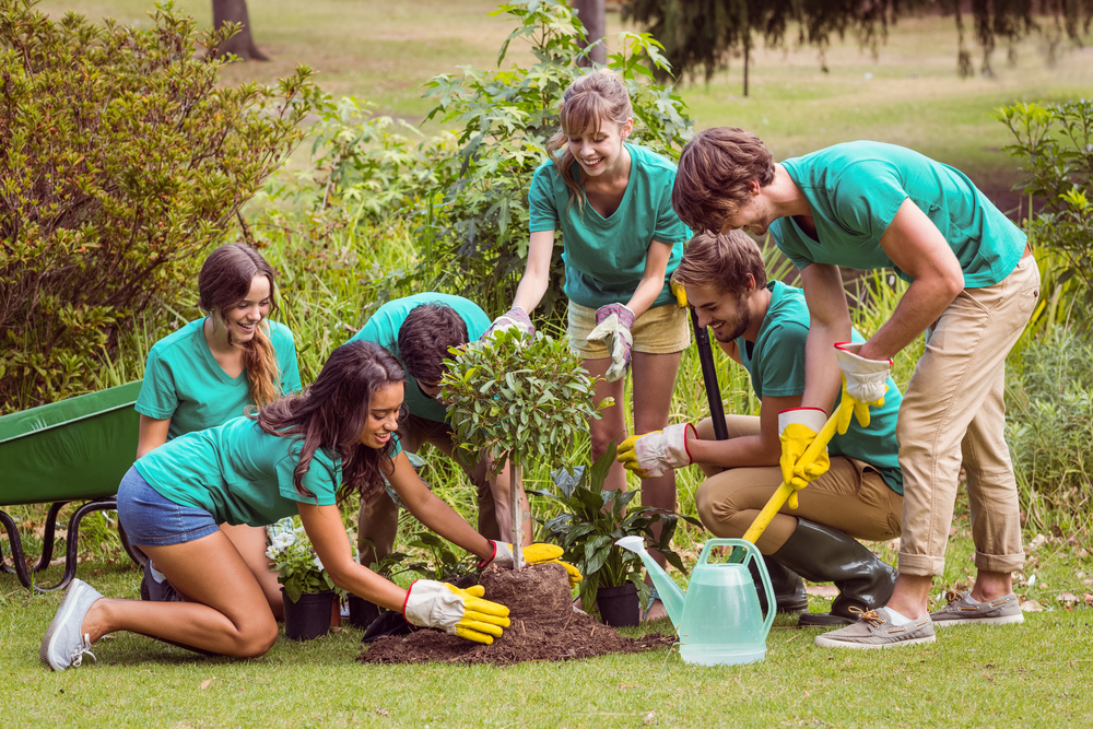 There are lots of opportunities to volunteer outside near Fort Bragg.