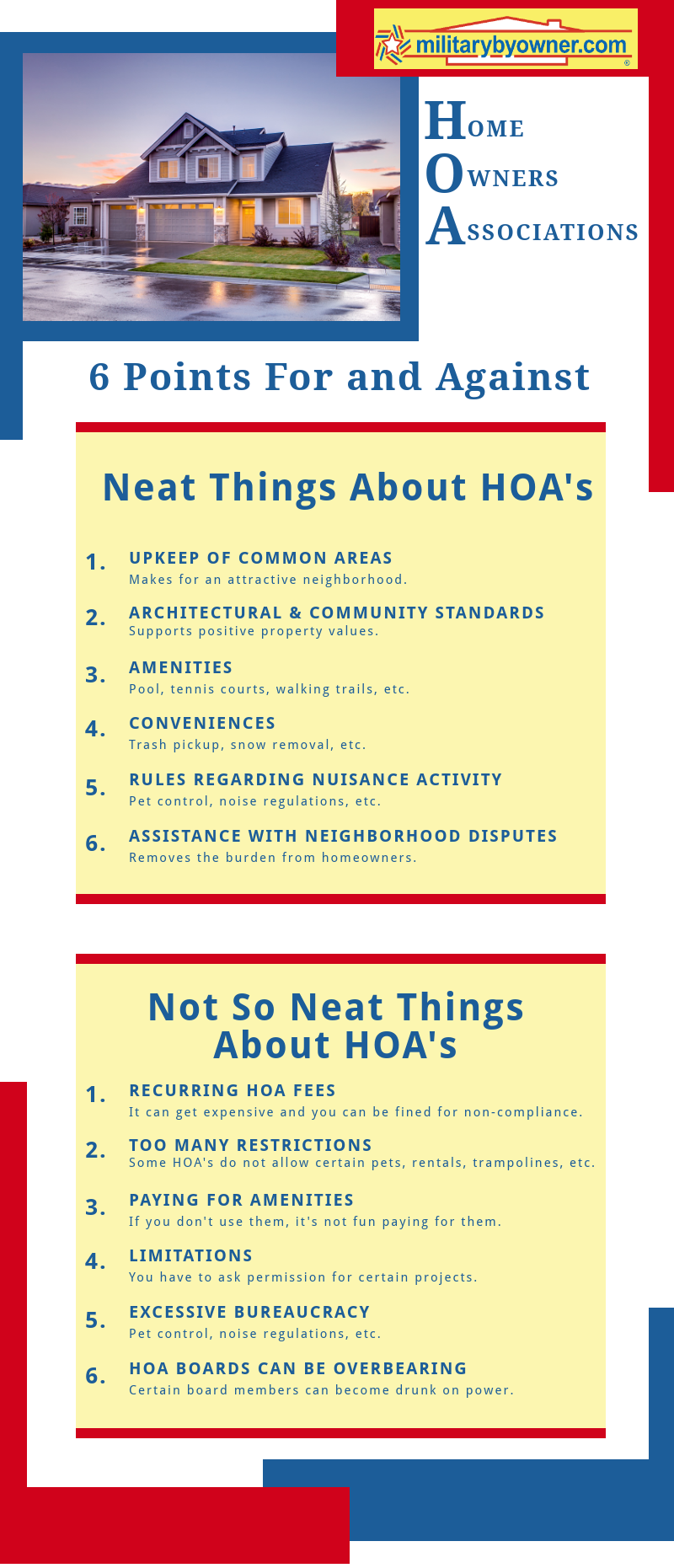 HOA Pros and Cons