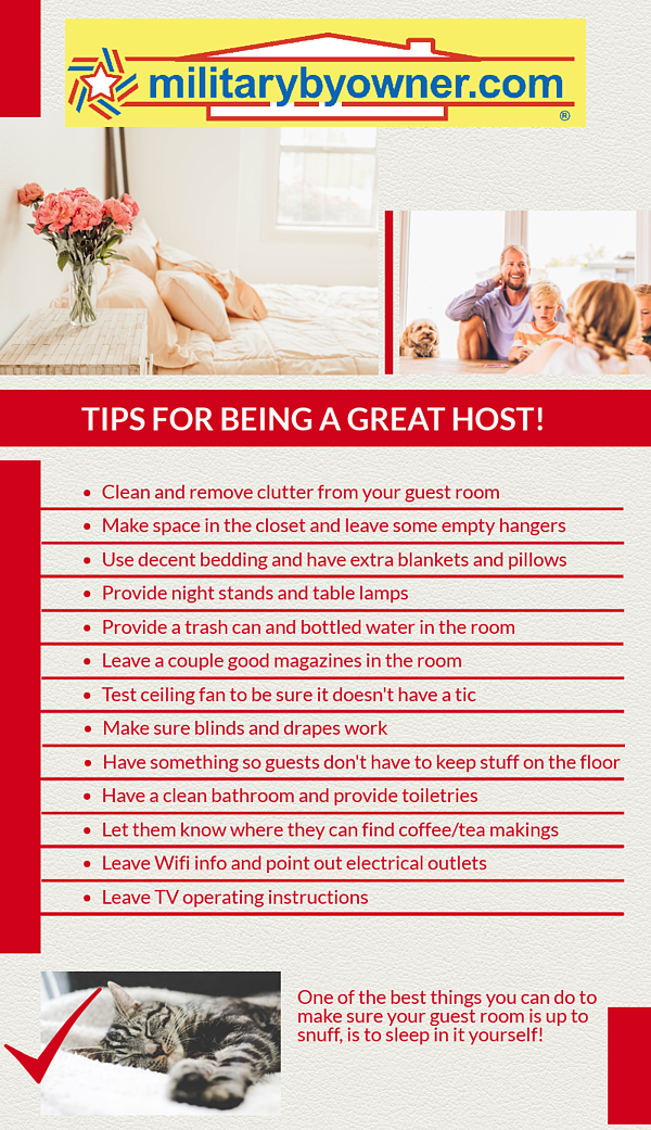 Tips for Being a Great Host