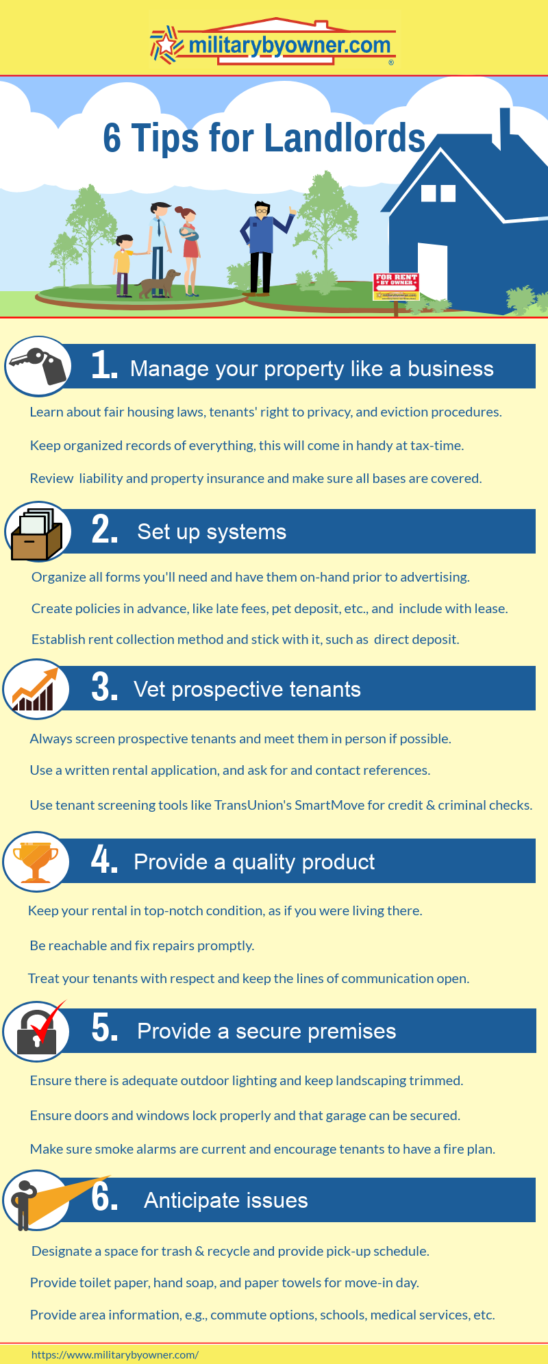 6 Tips for Landlords