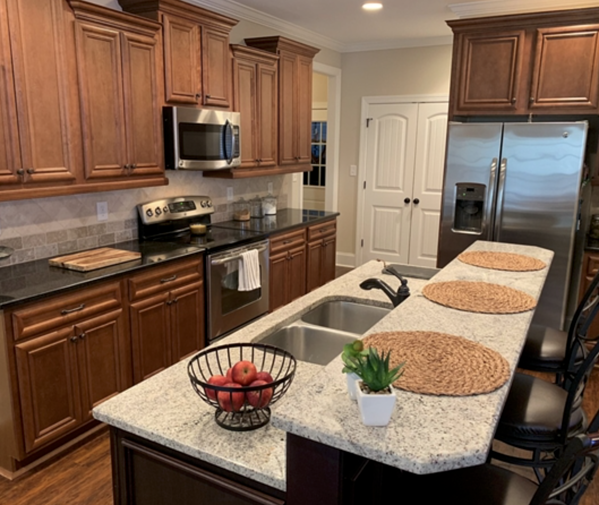 Hiwassee Drive kitchen