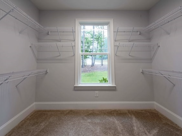 Steele Creek Drive Walk-in Closet
