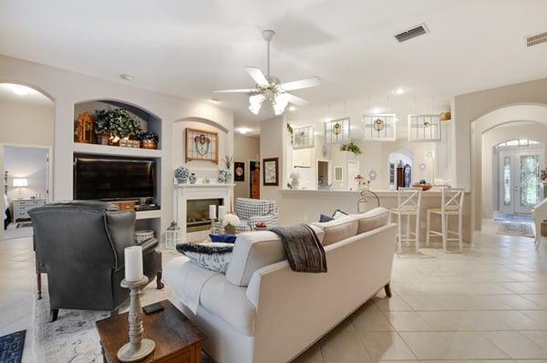 Lithia Home Living Area