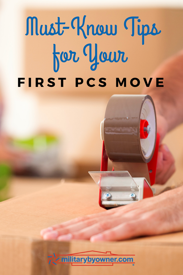 Must Know Tips for Your First PCS Move