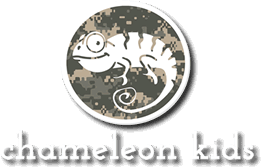 Chameleon Kids is a company for military kids.
