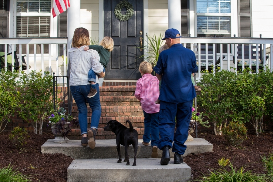 How does a VA loan differ from a conventional loan