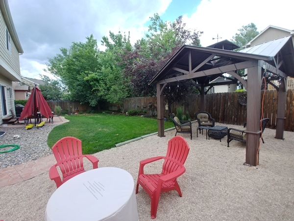 Round Hill Drive Backyard