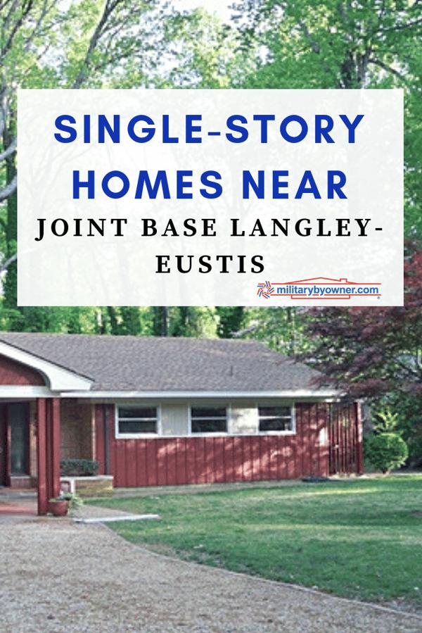 Single-Story Homes near Joint Base Langley-Eustis