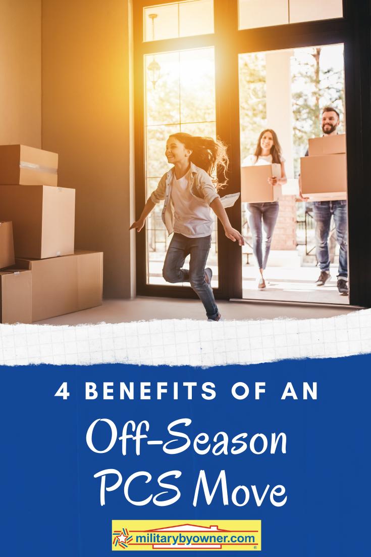 4 Benefits of an Off-season PCS Move