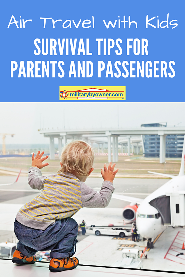 Air Travel with Kids Survival Tips