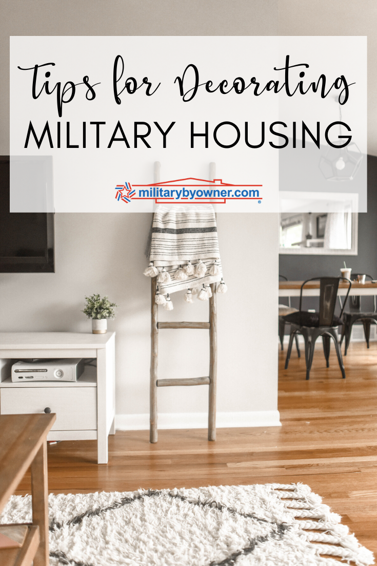Decorating Military Housing
