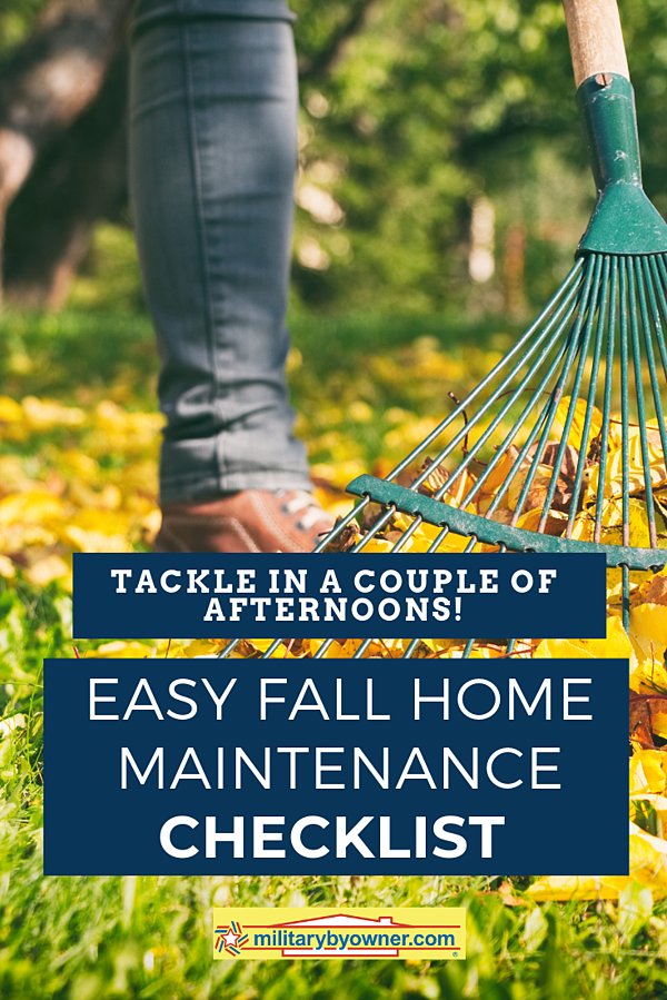 Easy Fall Home Maintenance