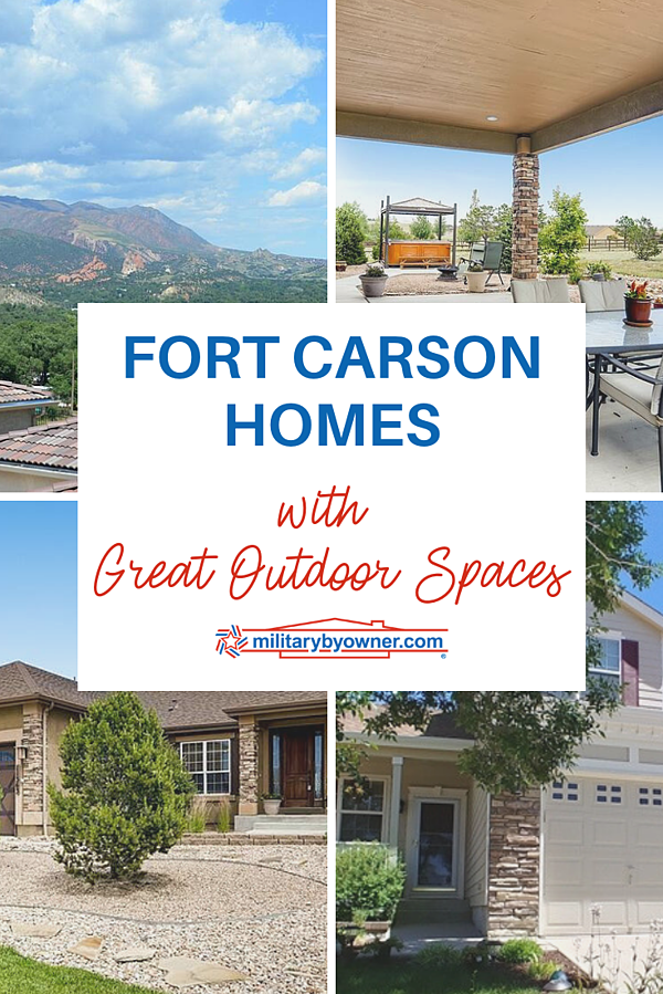 Fort Carson Homes with Great Outdoor Spaces