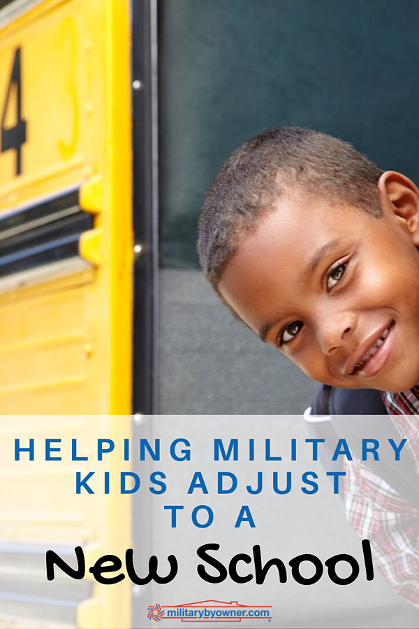 Helping Military Kids Adjust to a New School