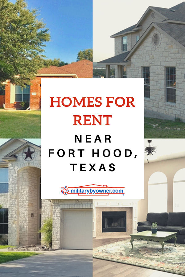 Homes for Rent Near Fort Hood