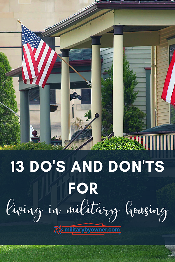 Living in Military Housing