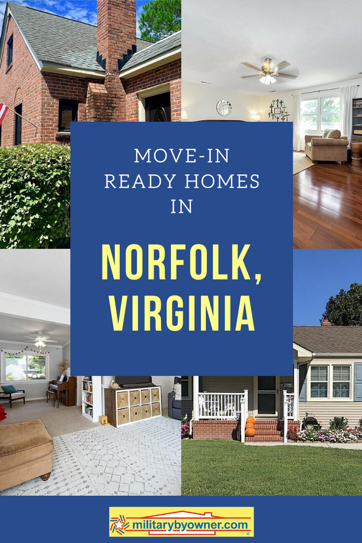 Move-In Ready Homes in Norfolk, Virginia