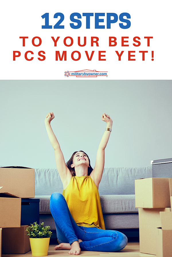 12 Steps to your best PCS move yet