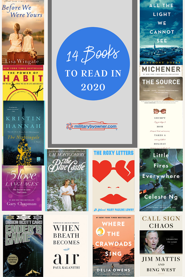 14 Books to Read in 2020