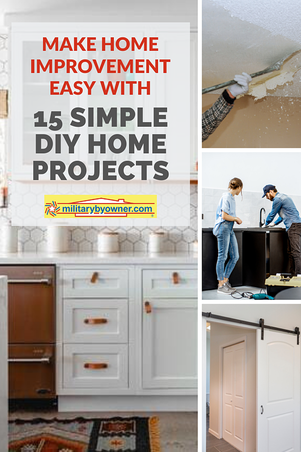 15 Simple DIY Home Projects