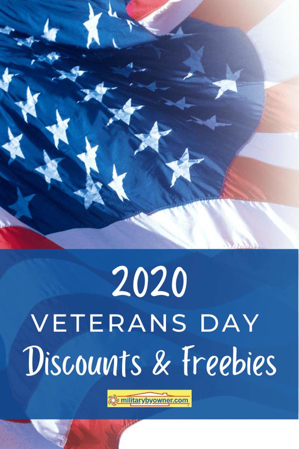 2020 Veterans Day Discounts