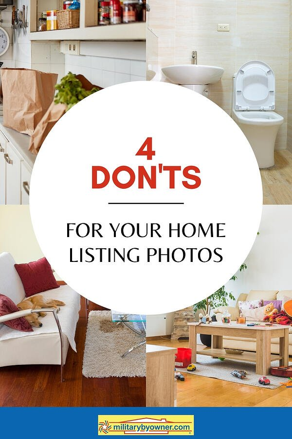 4 Donts for Your Home Listing Photos